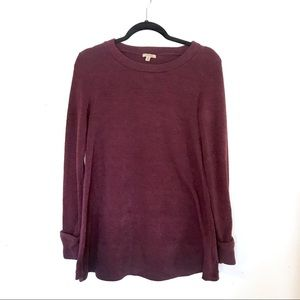 Anthropologie Anamá Maroon Pullover Sweater